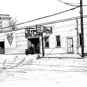Ford Garage 1920