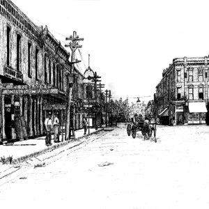 Bentonville, Arkansas Square, 1914