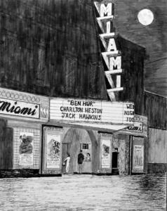 Miami Theater, 1957
