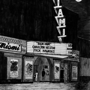 Miami Theater, 1957