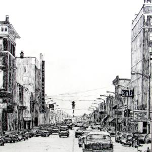 Main Street, Miami, Oklahoma, 1957