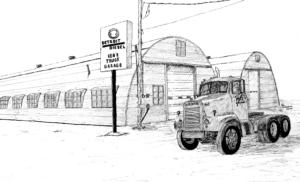 Ken's Truck Garage, 1966