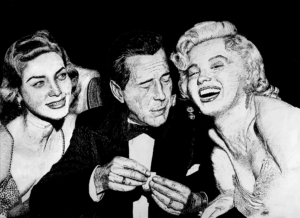 Bacall, Bogie, and Marilyn