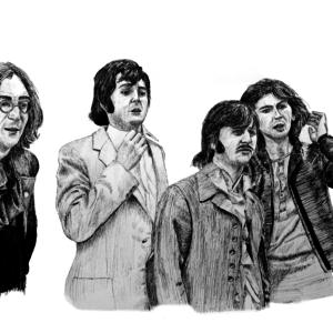 The Beatles, 1968 - Monochrome