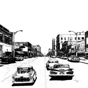 South Main, Miami, Oklahoma, 1960