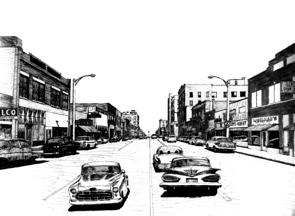 South Main, Miami, Oklahoma, 1960