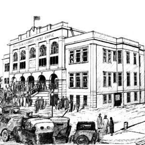 Benton County Courthouse, 1928