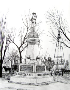 Benton County Confederate Memorial, 1920