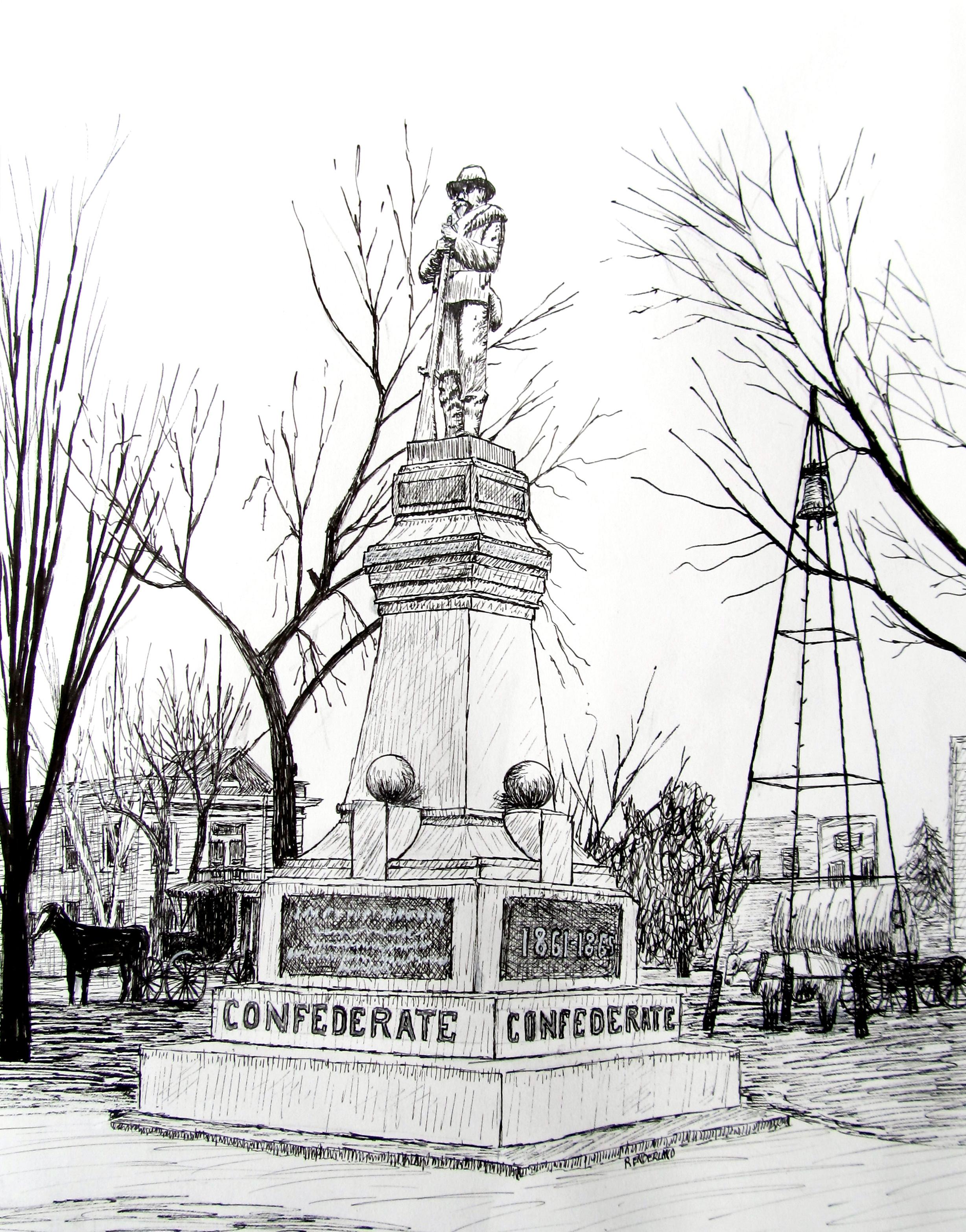Benton County Confederate Memorial, 1920
