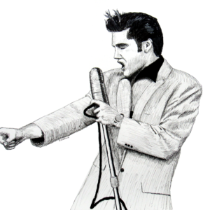 Elvis on Stage 1956