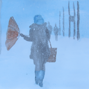 Snowy Day Umbrella